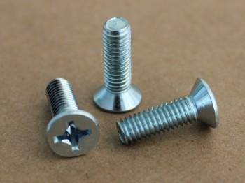 flat head machine screw