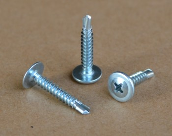 modified truss head self drilling screw