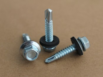 Self Drilling Screw with EPDM Washer ZP