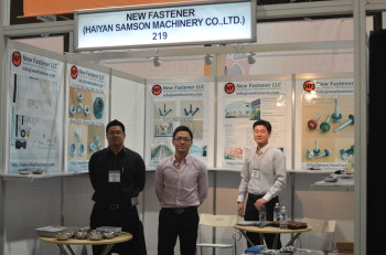 Our booth in National Hardware Show