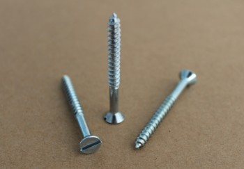 Slotted CSK Wood Screw