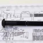 custom bolt according to customer's drawing