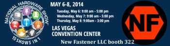 New Fastener National Hardware Show 2014